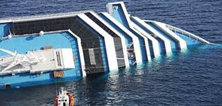 Crucero Costa Concordia Foto AFP