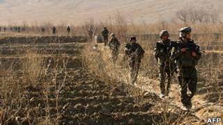 Dakarun Faransa a Afghanistan
