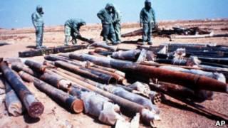 اسلحة كيميائية من عهد صدام حسين