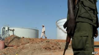 تنش در روابط سودان و سودان جنوبی. حوزه نفتی در سودان جنوبی
