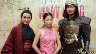 Diễn viên phim Khát vọng Thăng Long