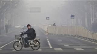 آلودگی هوا در پکن