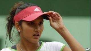 भारतीय टेनिस स्टार सानिया मिर्ज़ा