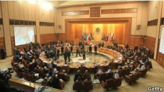 جلسة للجامعة العربية