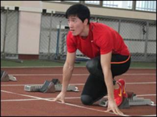 刘翔:龙年锁定英国 备战奥运