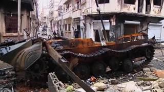 An kai farmaki a Homs