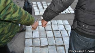 Арест наркоторговцев в Таджикистане