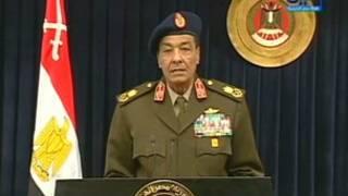 المشير طنطاوي رئيس المجلس الاعلى للقوات المسلحة.