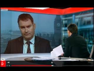 英国财政部长高科接受BBC采访