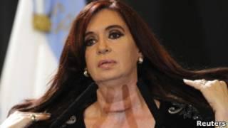 Cristina Kirchner. Reuters