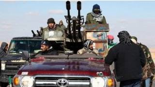 Dân quân ở Libya