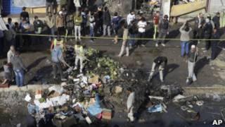 बग़दाद में विस्फोट