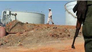 المنشآت النفطية في جنوب السودان