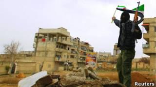 Повстанцы в пригороде Дамаска