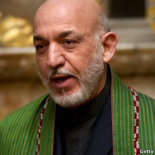 Presidente afegão, Hamid Karzai