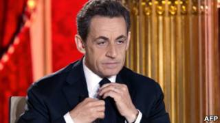Nicolas Sarkozy. AFP