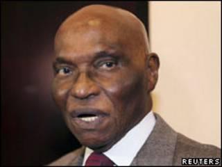 Rais wa Senegal Abdoulaye Wade