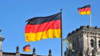 Флаг Германии над Рейхстагом