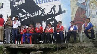 Imágenes en un evento de La Piedrita en la zona del 23 de enero, en Caracas.