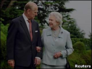 女王與菲利普親王