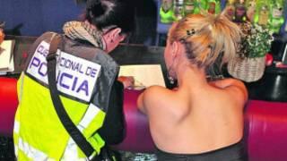 Quadrilha de prostituição é apreendida na Espanha em 2011. | Foto: Polícia Nacional da Espanha