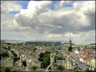 蘇格蘭聖安德魯大學所在地