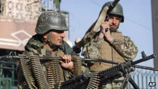 Binh lính Afghanistan