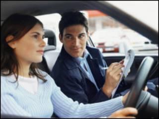 英國駕駛執照考試