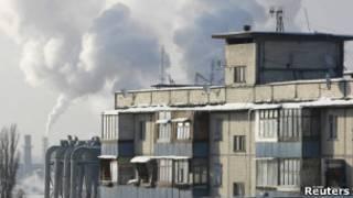 Киев: дымят трубы