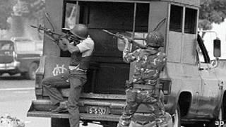 Combates en Venezuela, 1992