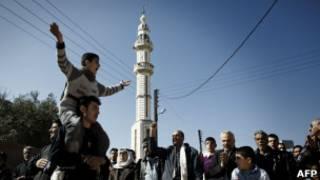 اعتراض های ضد دولتی در شهر حمص سوریه