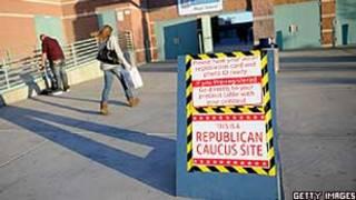 Centro de votação em escola de Las Vegas, Nevada (Getty)