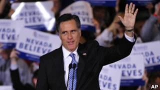 Mitt Romney tuyên bố chiến thắng ở Nevada