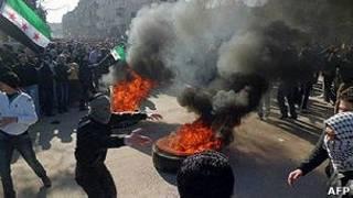 Протесты в Дамаске