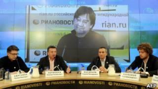 Основатели Лиги избирателей, включая Илью Варламова