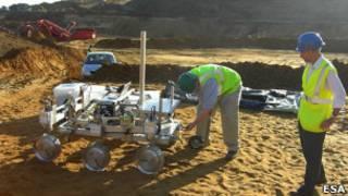 Прототип марсианской передвижной лаборатории