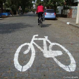 Rota de bicicletas - Chácara Sto. Antonio/Brooklin