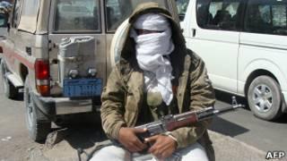 """Боевик """"Аль-Каиды"""" в Йемене"""