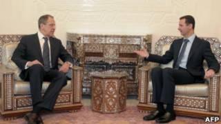 Lavrov, Asad