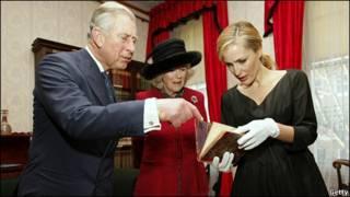 英國王儲查爾斯和夫人卡米拉