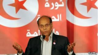 الرئيس التونسي المنصف المرزوقي