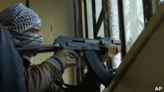 Боец Сирийской свободной армии