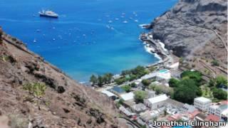 Ilha de Santa Helena. Foto: Jonathan Clingham/Divulgação