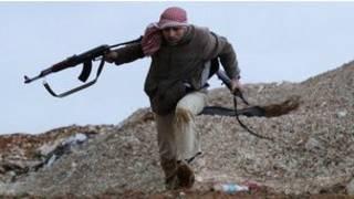Dan tawaye a Syria