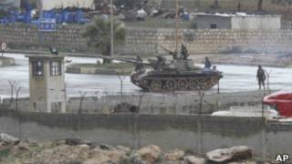 دبابة سورية