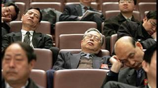 Cảnh ngủ gục ở phiên họp Quốc hội Trung Quốc
