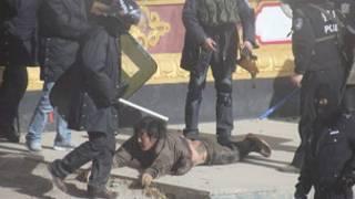 Cảnh sát Trung Quốc ra tay với người dân Tây Tạng phản đối