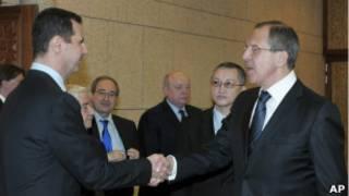 Лавров и Ассад