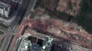 صور بالأقمار الصناعية للعنف في سوريا