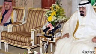 Король Саудовской Аравии Абдулла